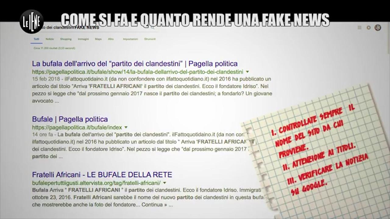 Come si fa e quanto rende una fake news: le foto