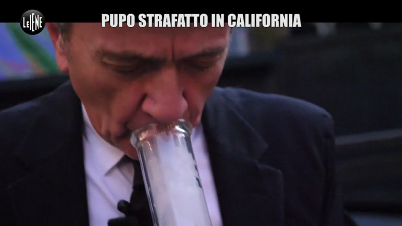 Cannabis libera in California, Pupo strafatto di marijuana: le foto