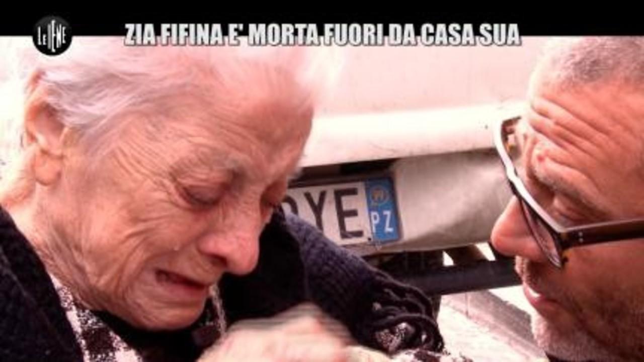 GOLIA: Zia Fifina è morta fuori da casa sua