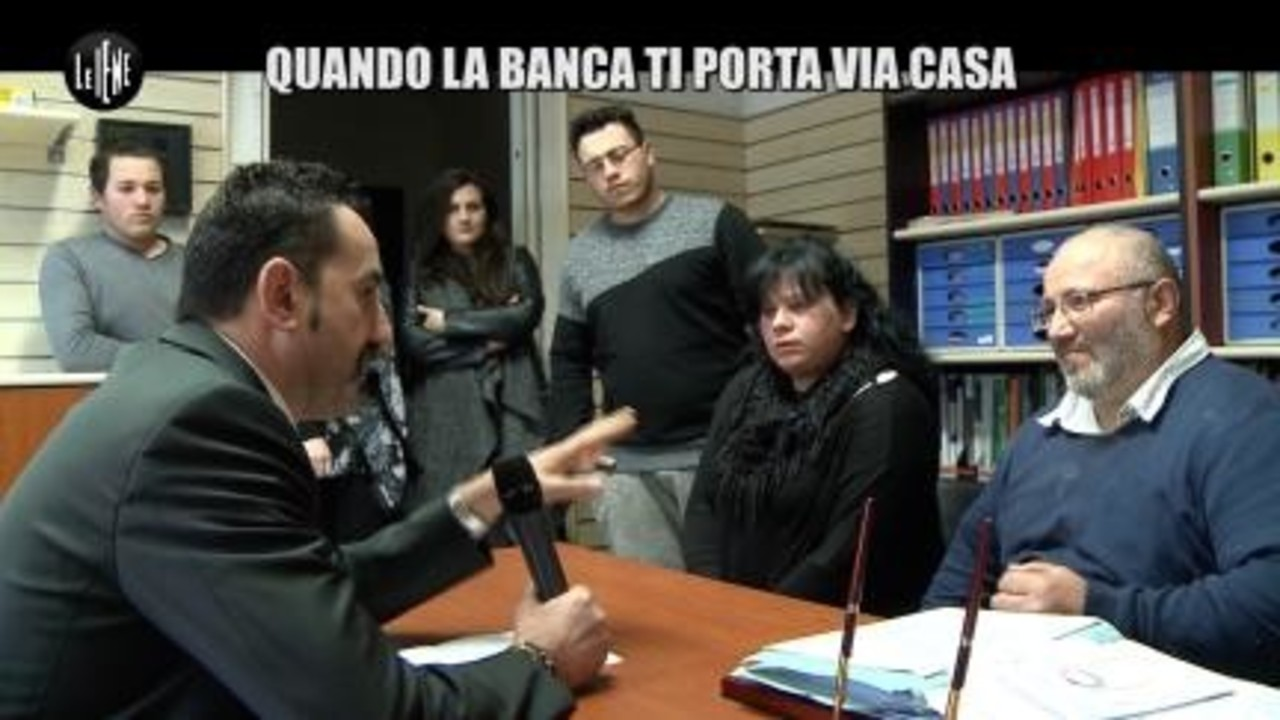 PELAZZA: Quando la banca ti porta via casa