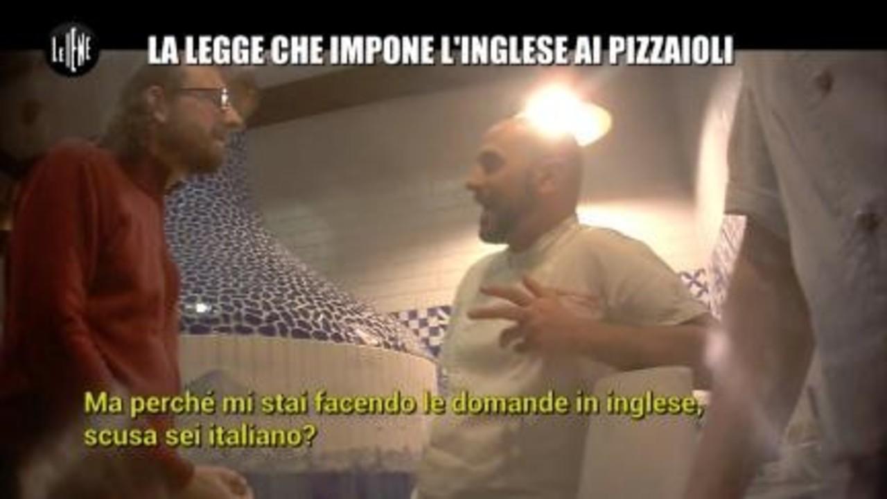 ROMA: La legge che impone l'inglese ai pizzaioli