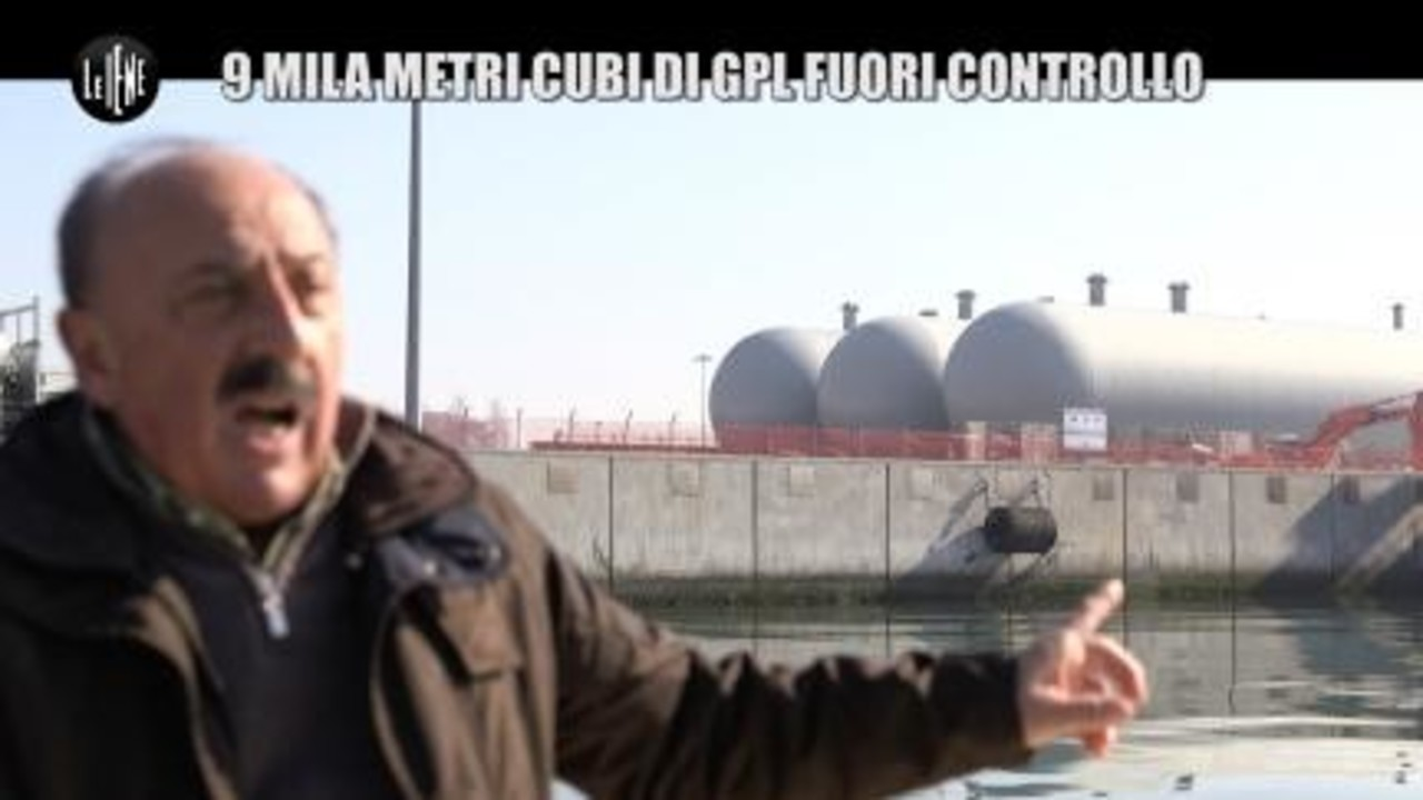 PECORARO: 9 mila metri cubi di GPL fuori controllo