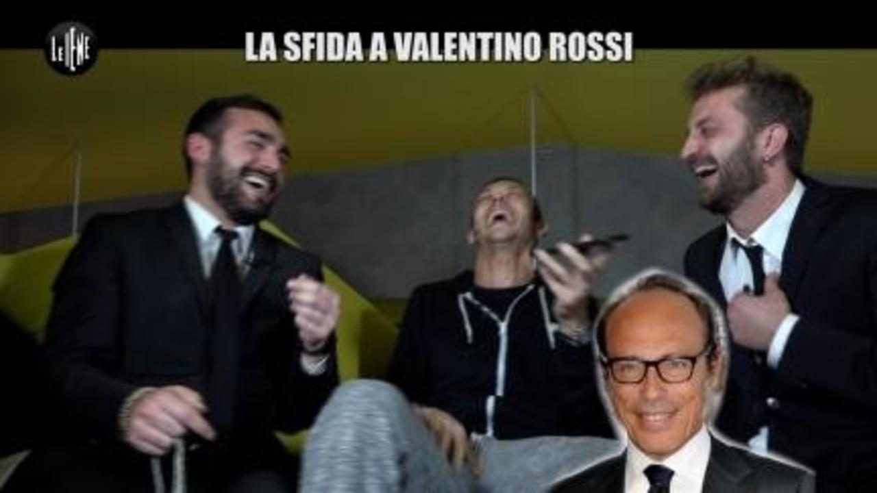 CORTI E ONNIS: La sfida di Valentino Rossi