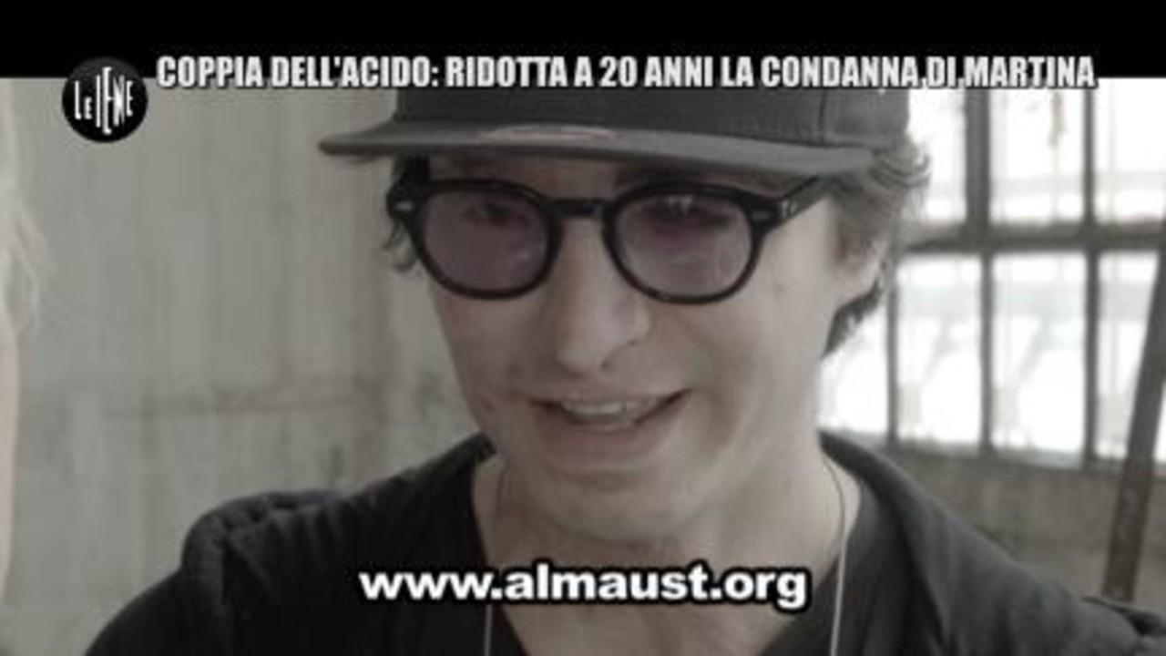 TOFFA: Coppia dell'acido: ridotta a 20 anni la condanna di Martina