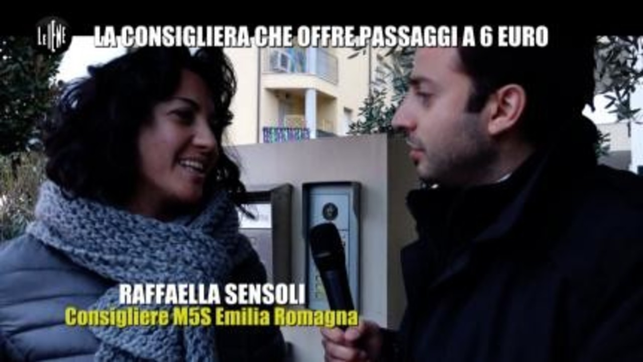 CORDARO: La consigliera che offre passaggi a 6 euro