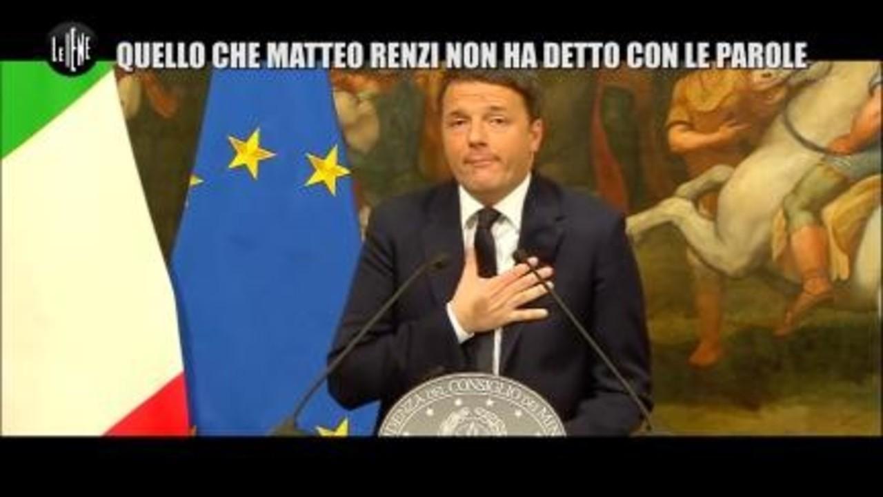 VIVIANI: Quello che Matteo Renzi non ha detto con le parole