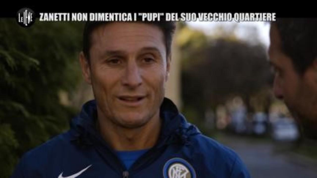 """PECORARO: Zanetti non dimentica i """"Pupi"""" del suo vecchio quartiere"""