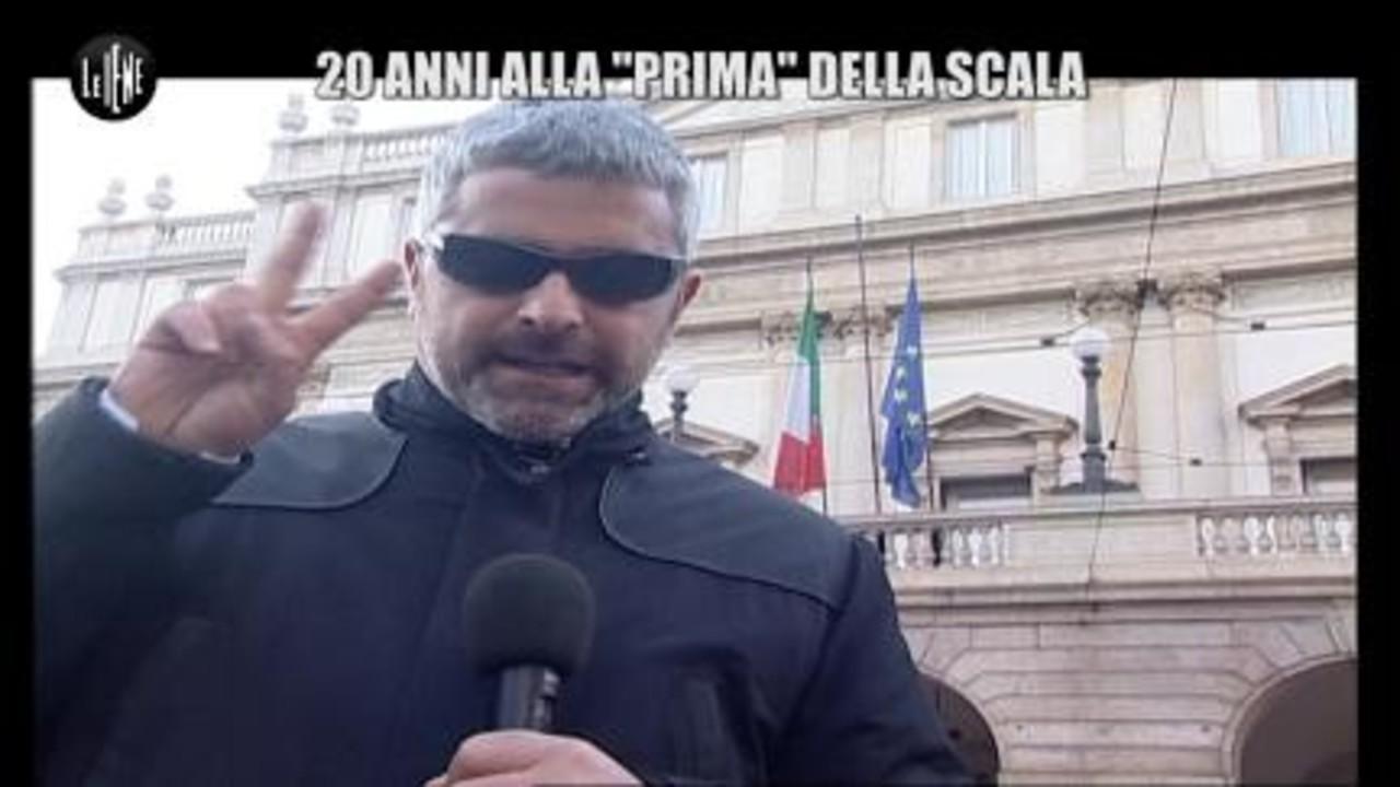 """LUCCI: 20 anni alla """"Prima"""" della Scala"""