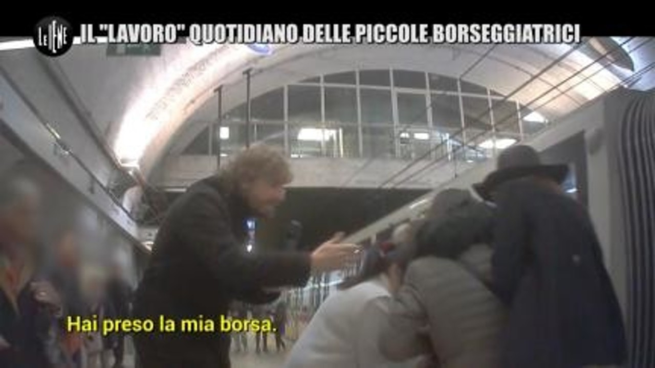 """ROMA: Il """"lavoro"""" quotidiano delle piccole borseggiatrici"""