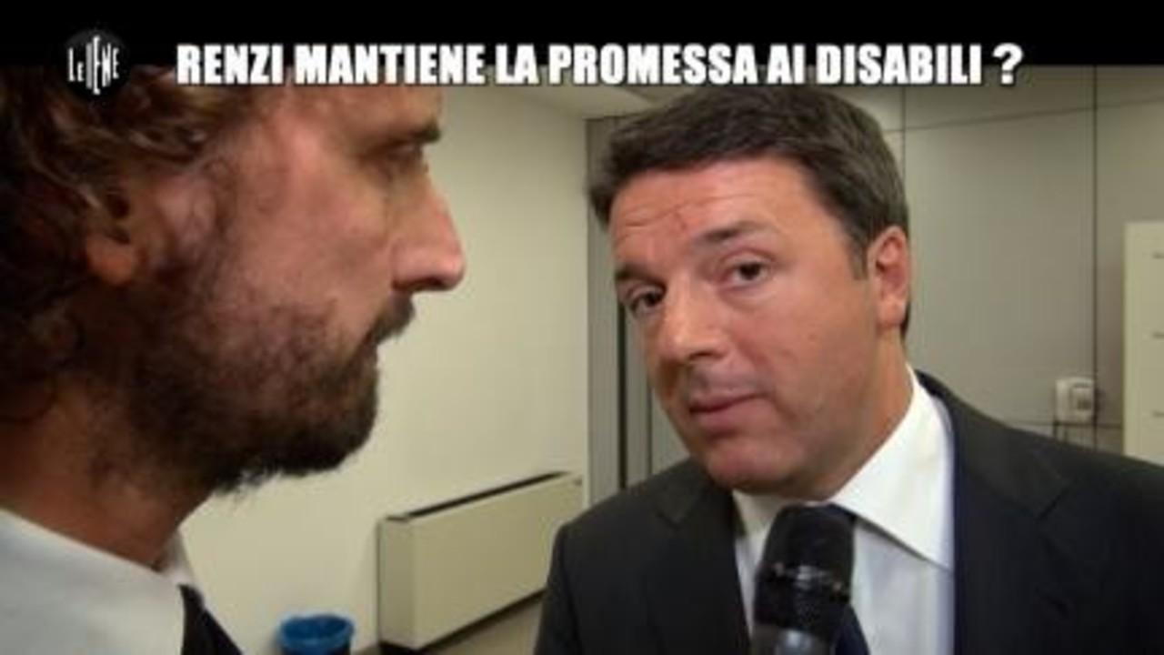 ROMA: Renzi mantiene la promessa ai disabili?