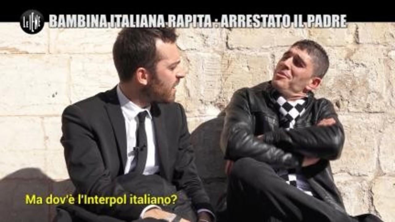 MAISANO: Bambina italiana rapita: arrestato il padre