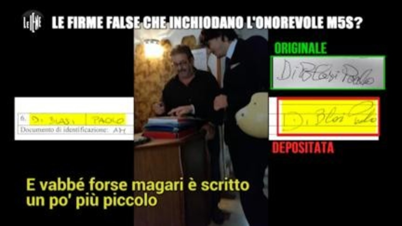 ROMA: Le firme false che inchiodano l'Onorevole M5S?