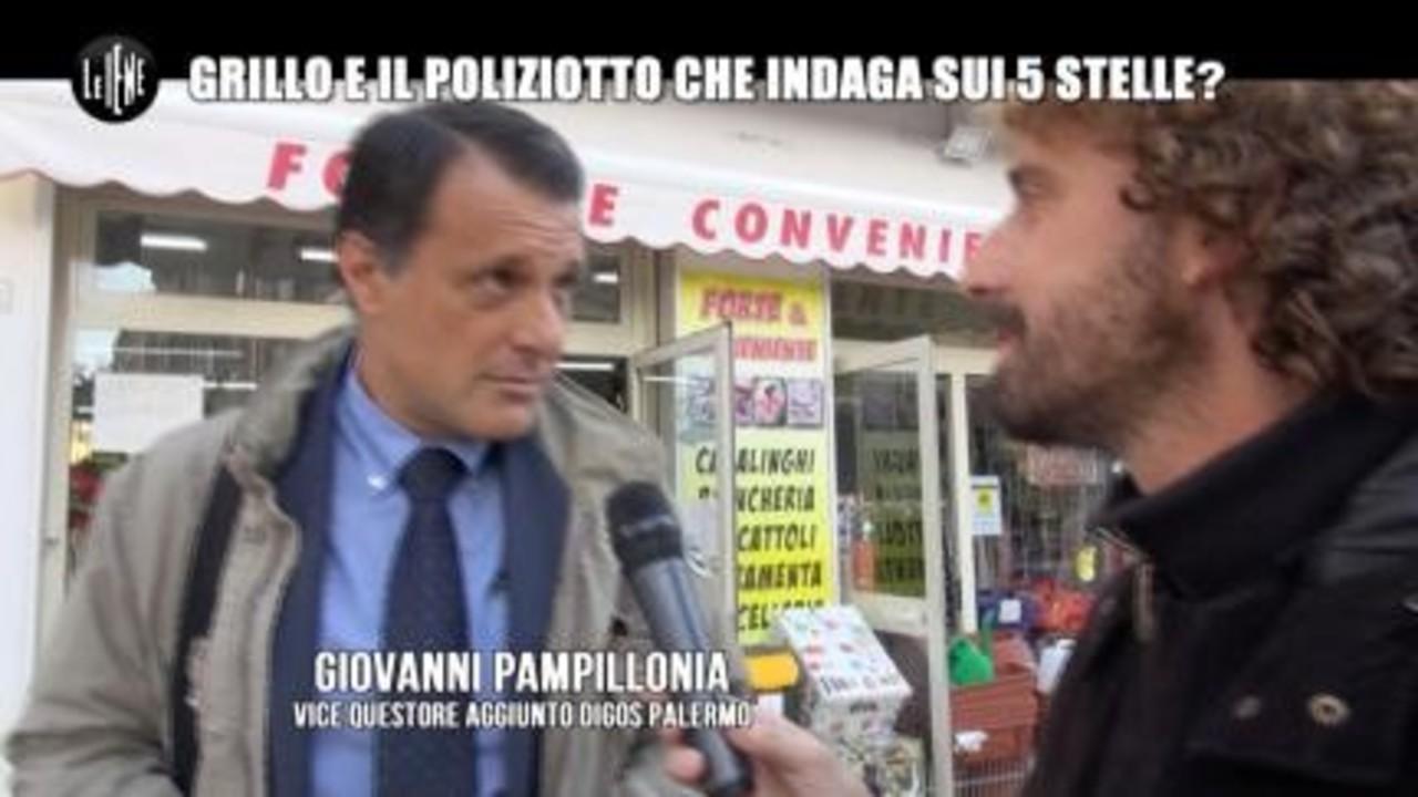ROMA: Il poliziotto che va a braccetto con Grillo