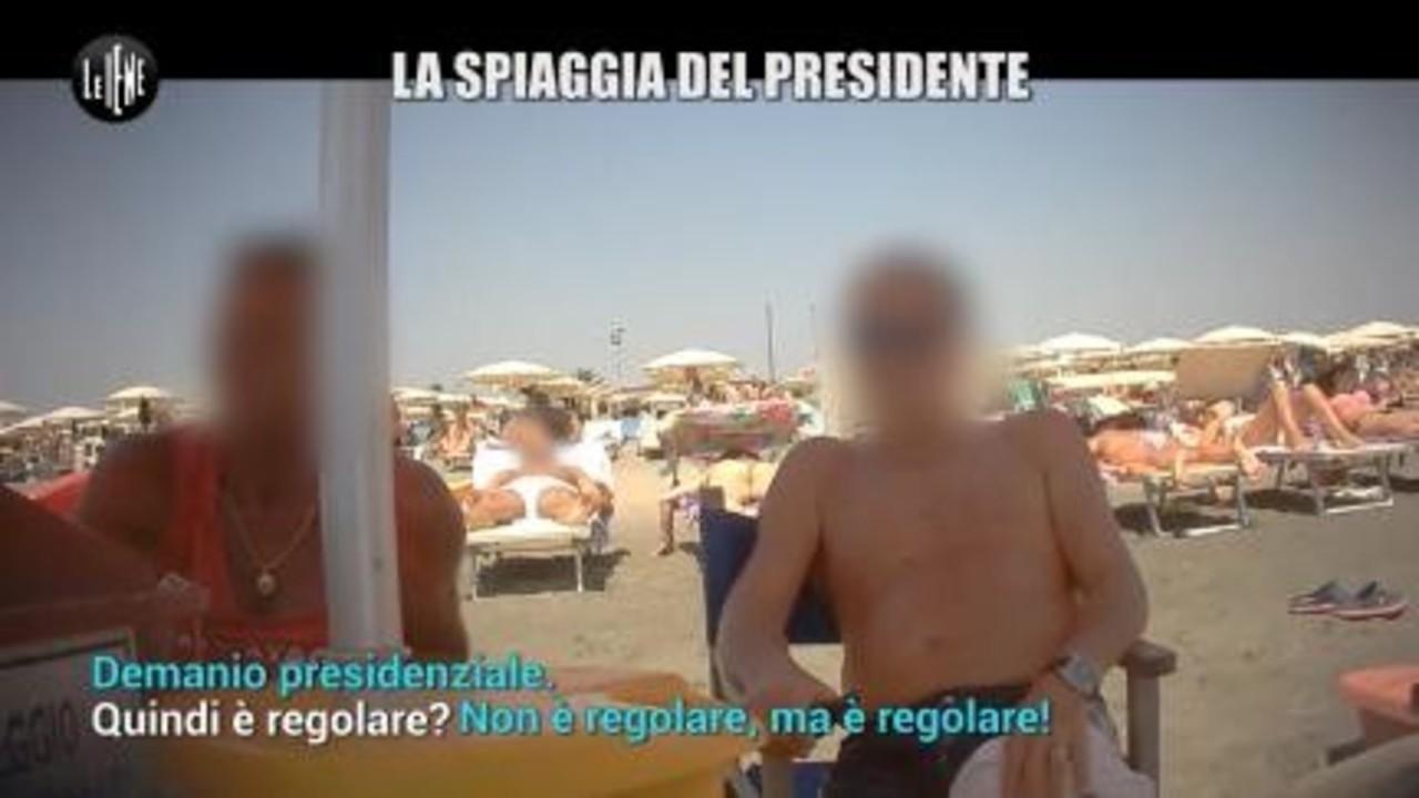 AGRESTI: La spiaggia del Presidente