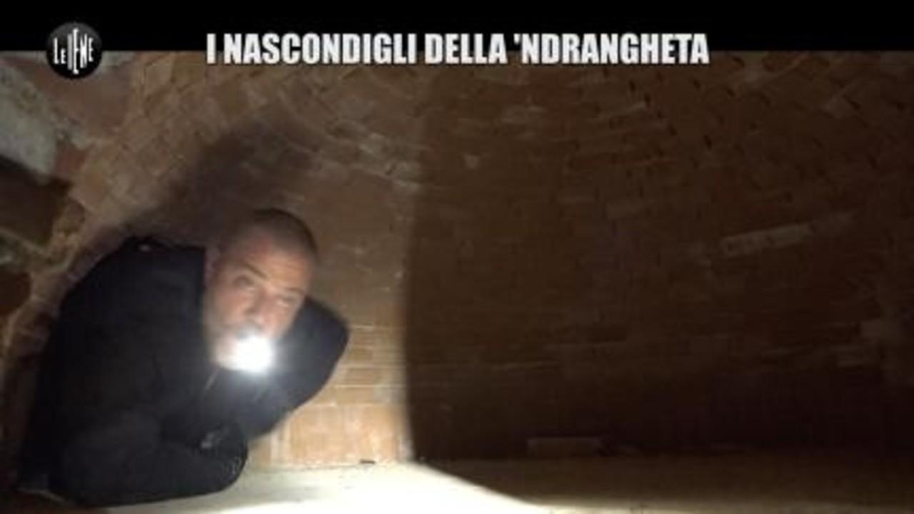 GOLIA: I nascondigli della 'ndrangheta