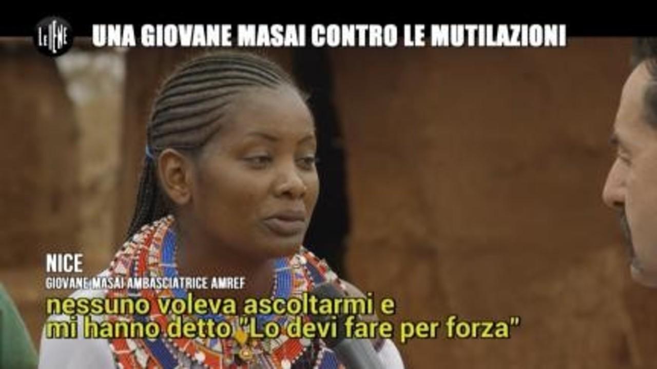 PELAZZA: Una giovane Masai contro le mutilazioni