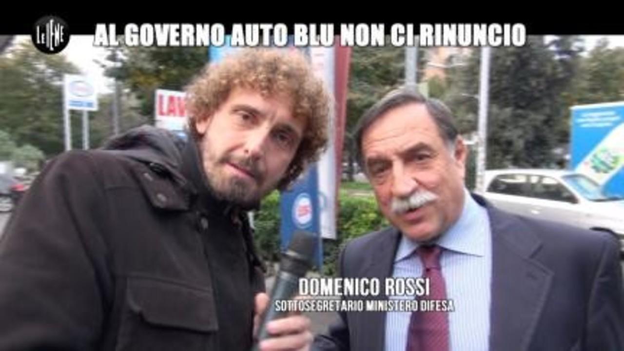 ROMA: Al Governo auto blu ci rinuncio
