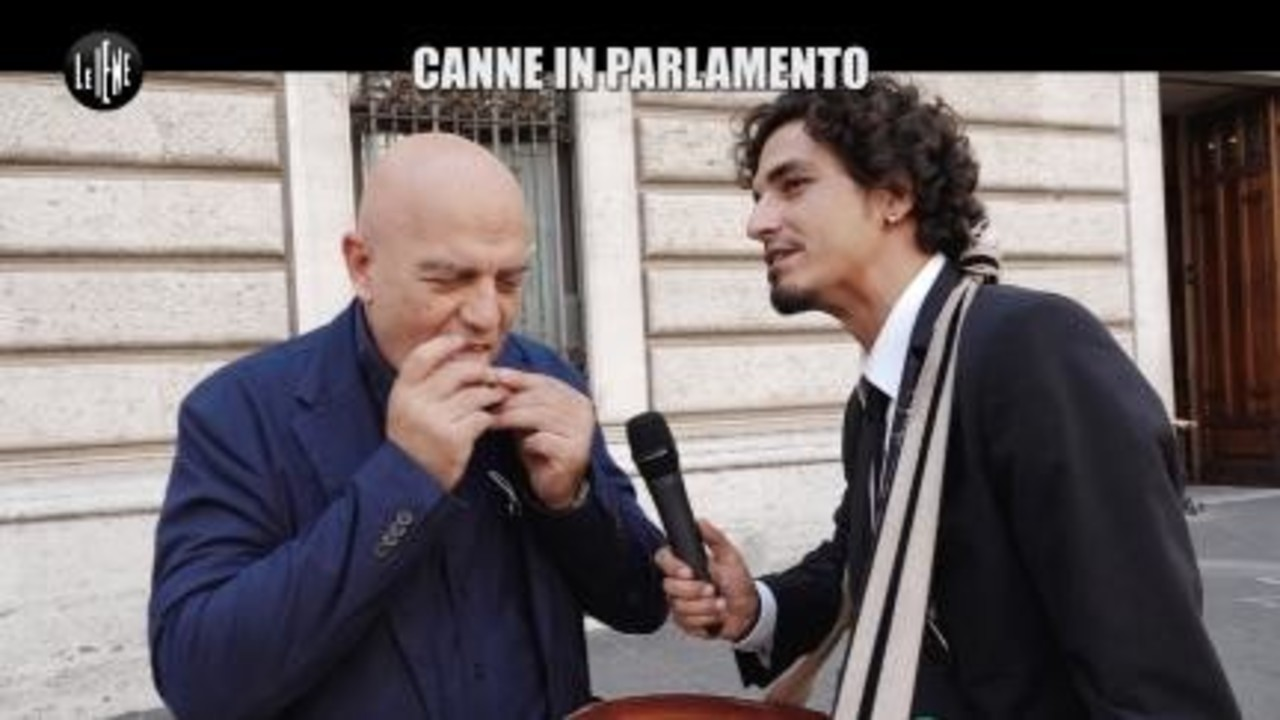 SPARACINO: Canne in Parlamento