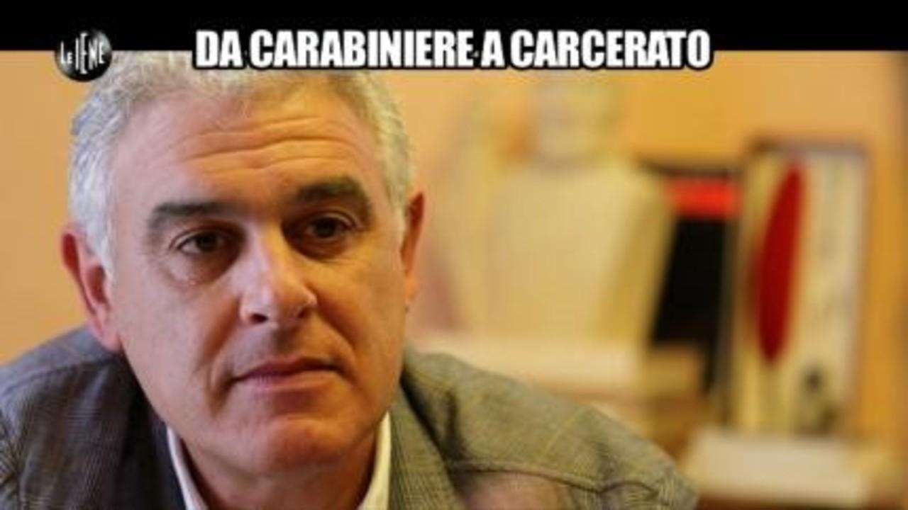 PECORARO: Da carabiniere a carcerato