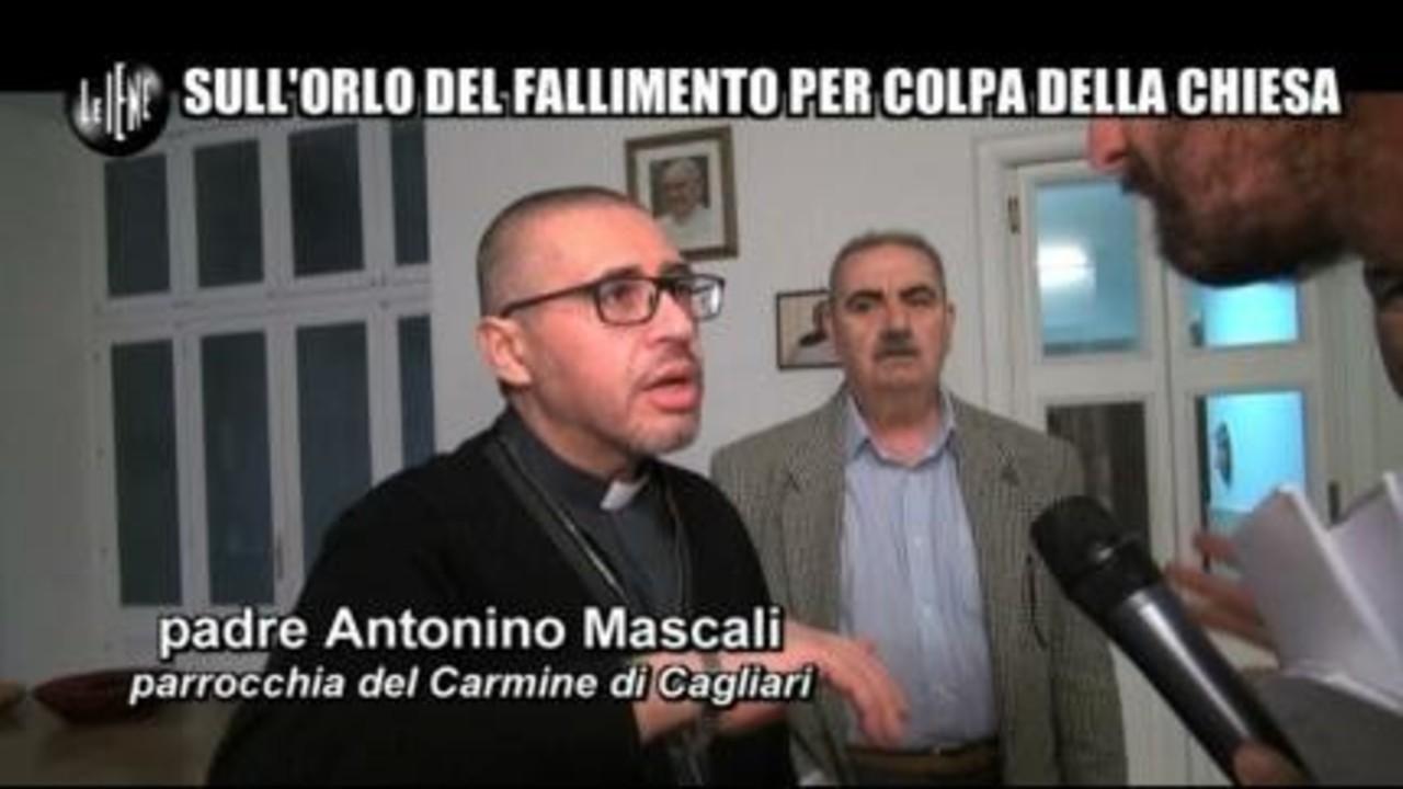 ROMA: Sull'orlo del fallimento per colpa della Chiesa