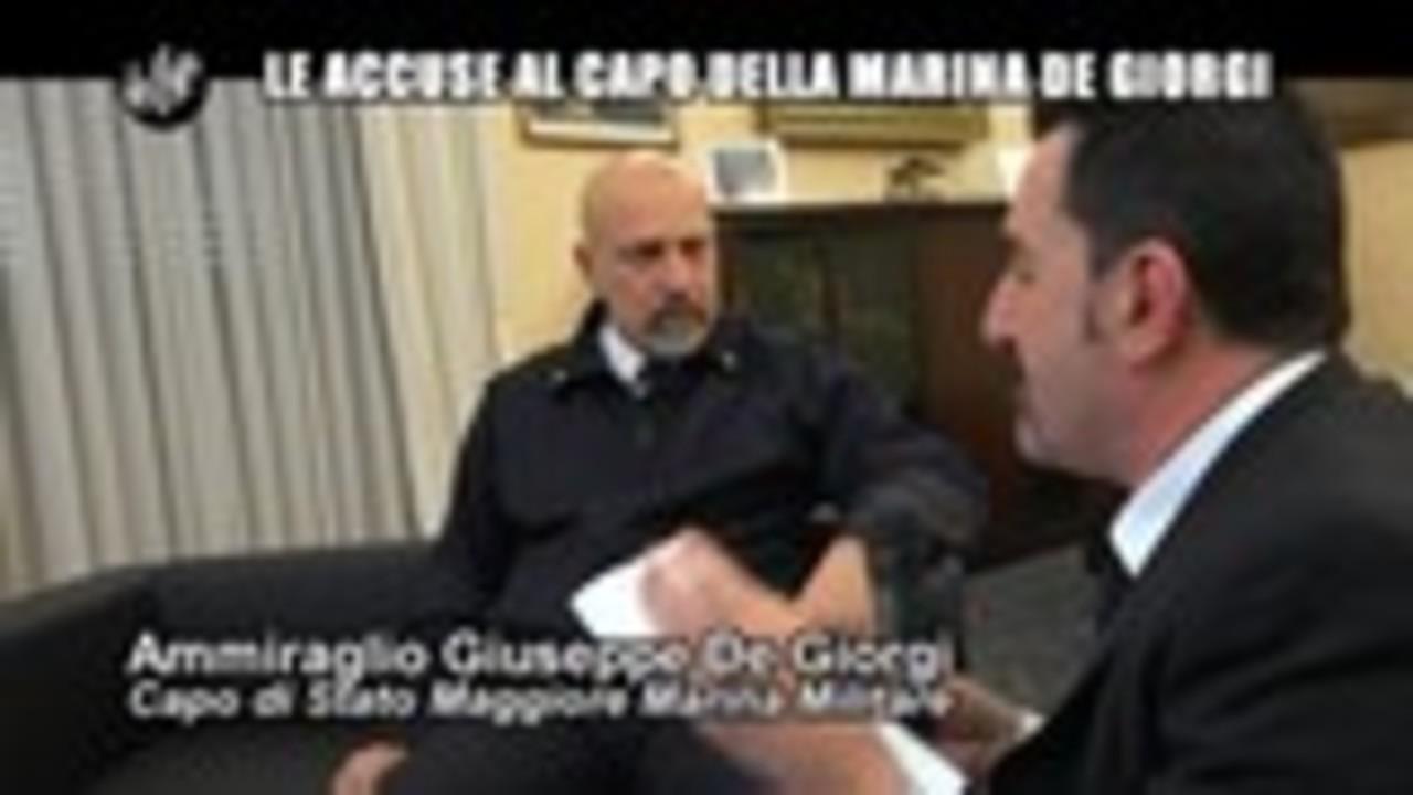 PELAZZA: Le accuse al capo della Marina De Giorgi