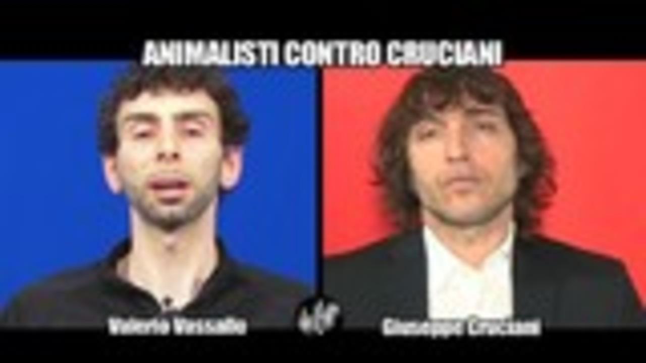 DE DEVITIIS: Animalisti contro Cruciani