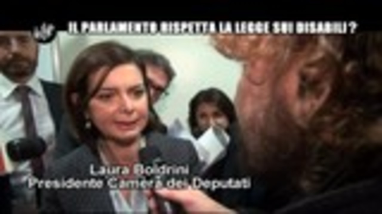 ROMA: Il Parlamento rispetta la Legge sui disabili?