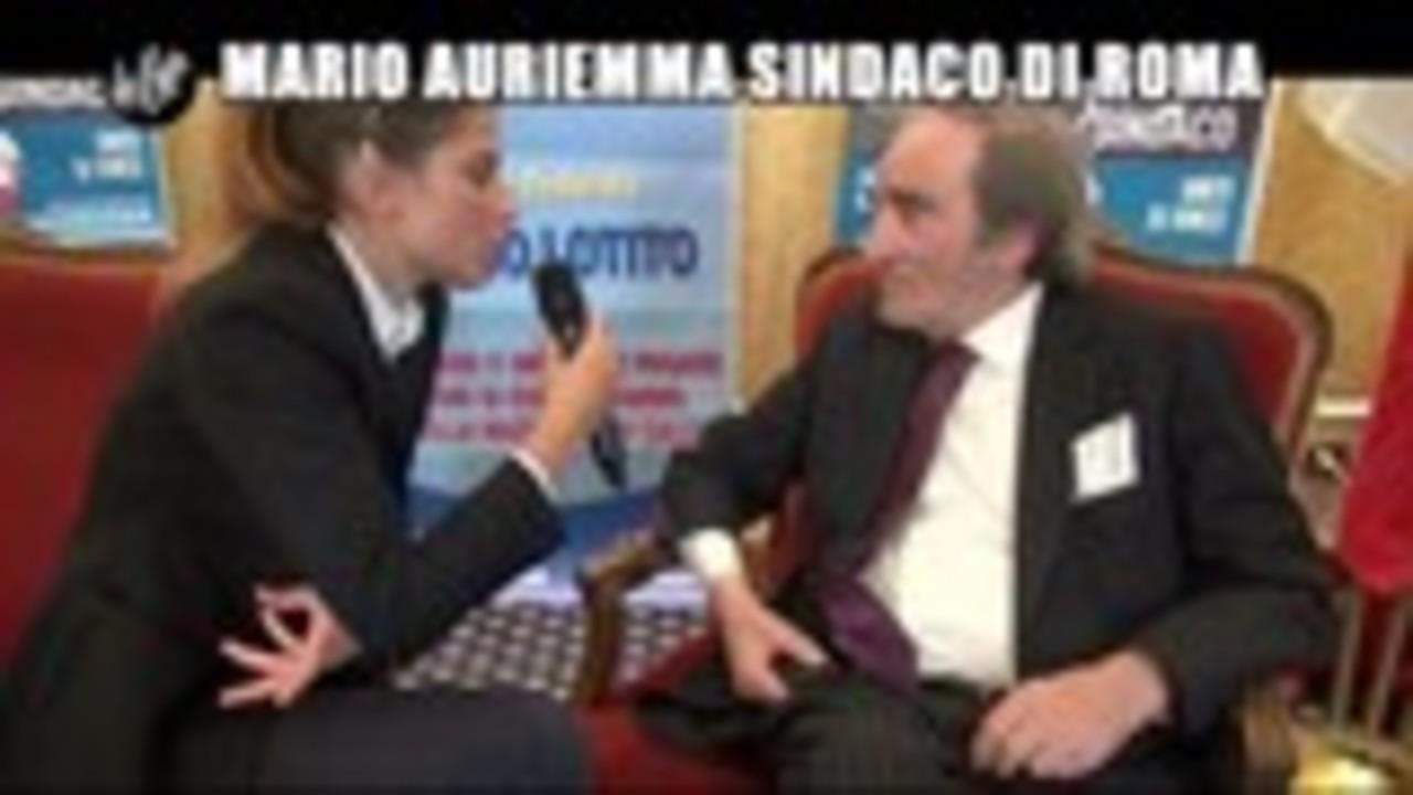 NOBILE: Mario Auriemma sindaco di Roma