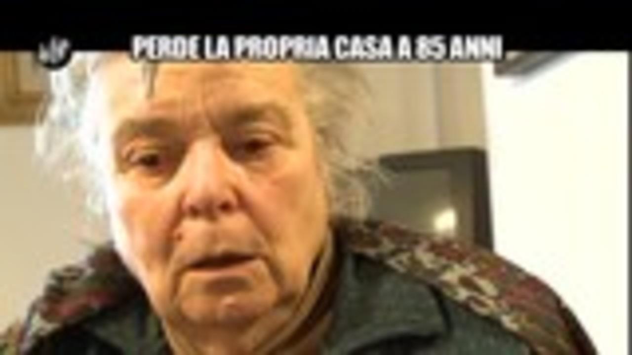 MAISANO: Perde la propria casa a 85 anni