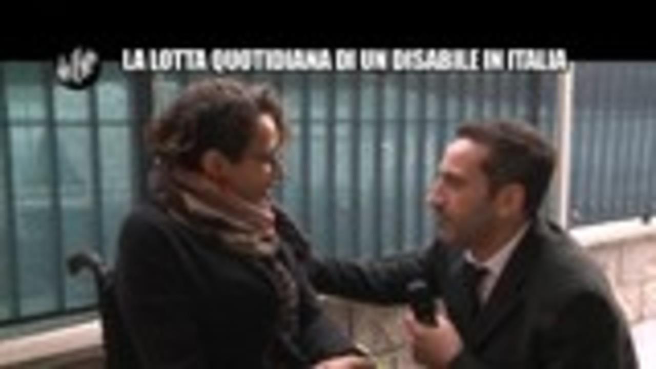 VIVIANI: La lotta quotidiana di un disabile in Italia