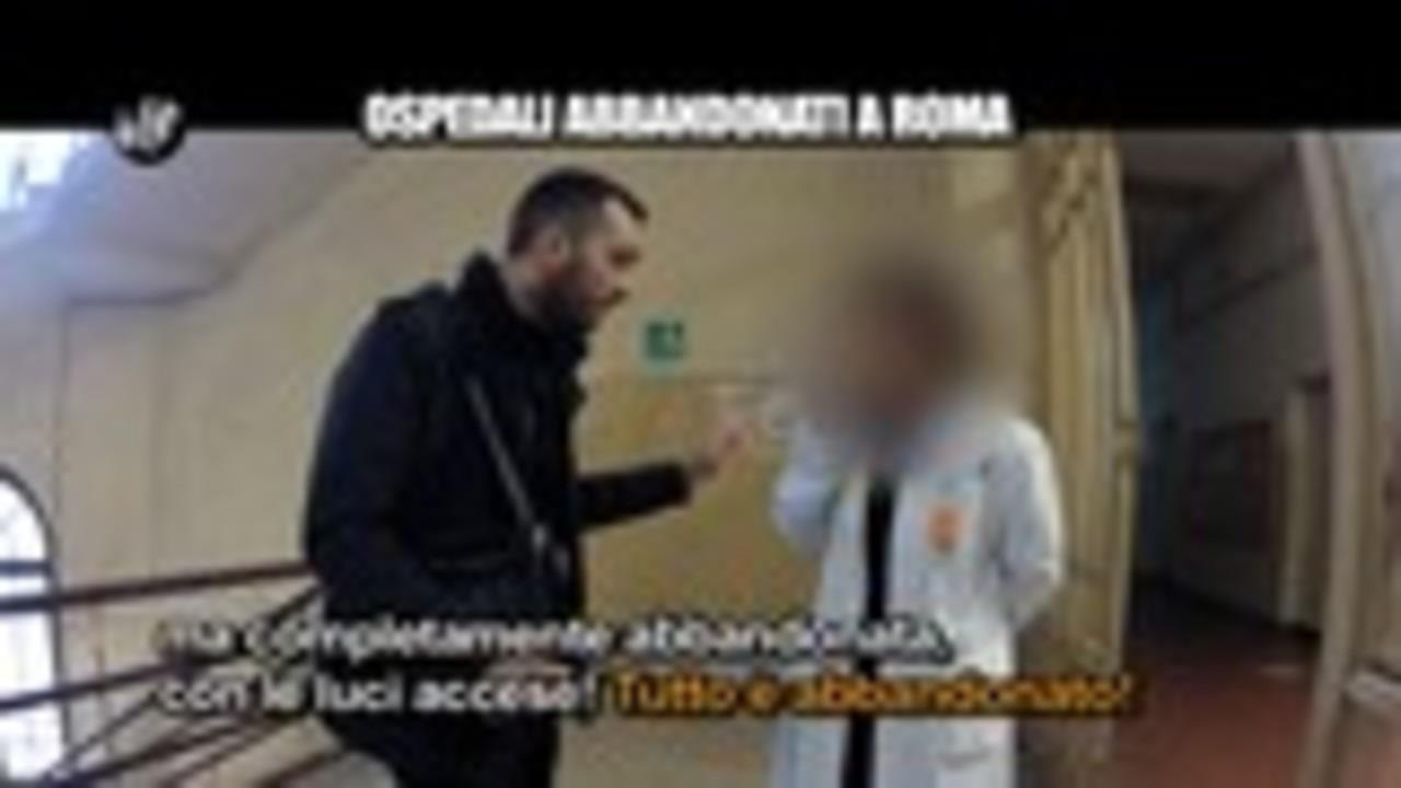 MAISANO: Ospedali abbandonati a Roma