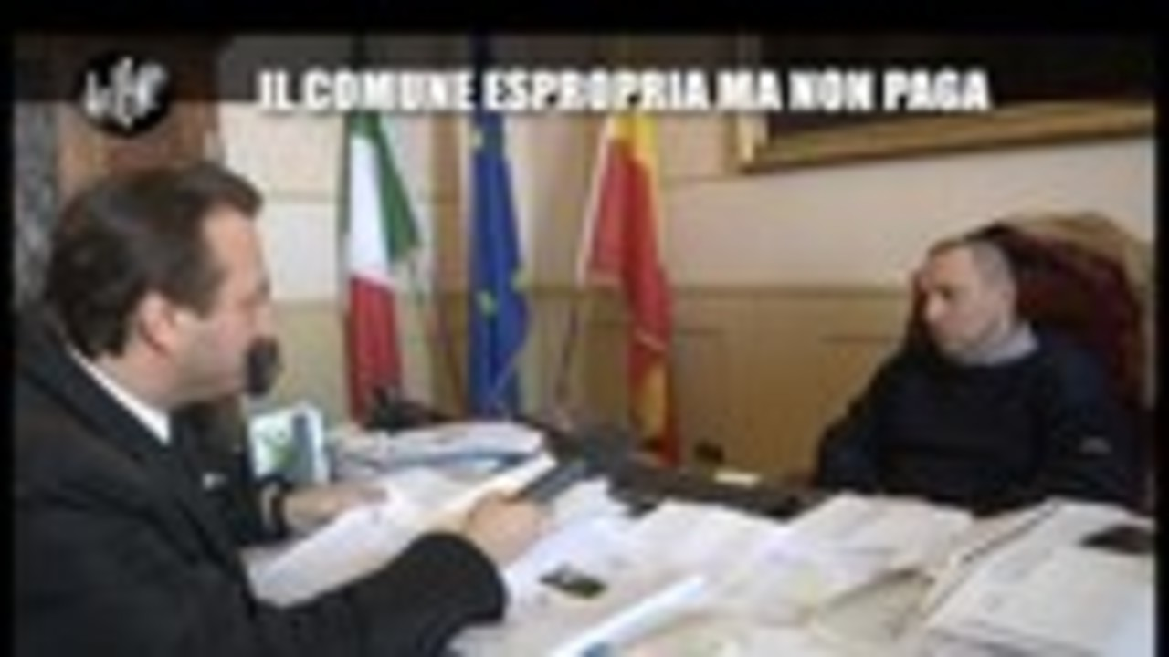CASCIARI: Il Comune espropria ma non paga