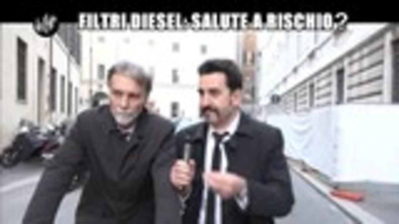 PELAZZA: Filtri Diesel:salute a rischio?