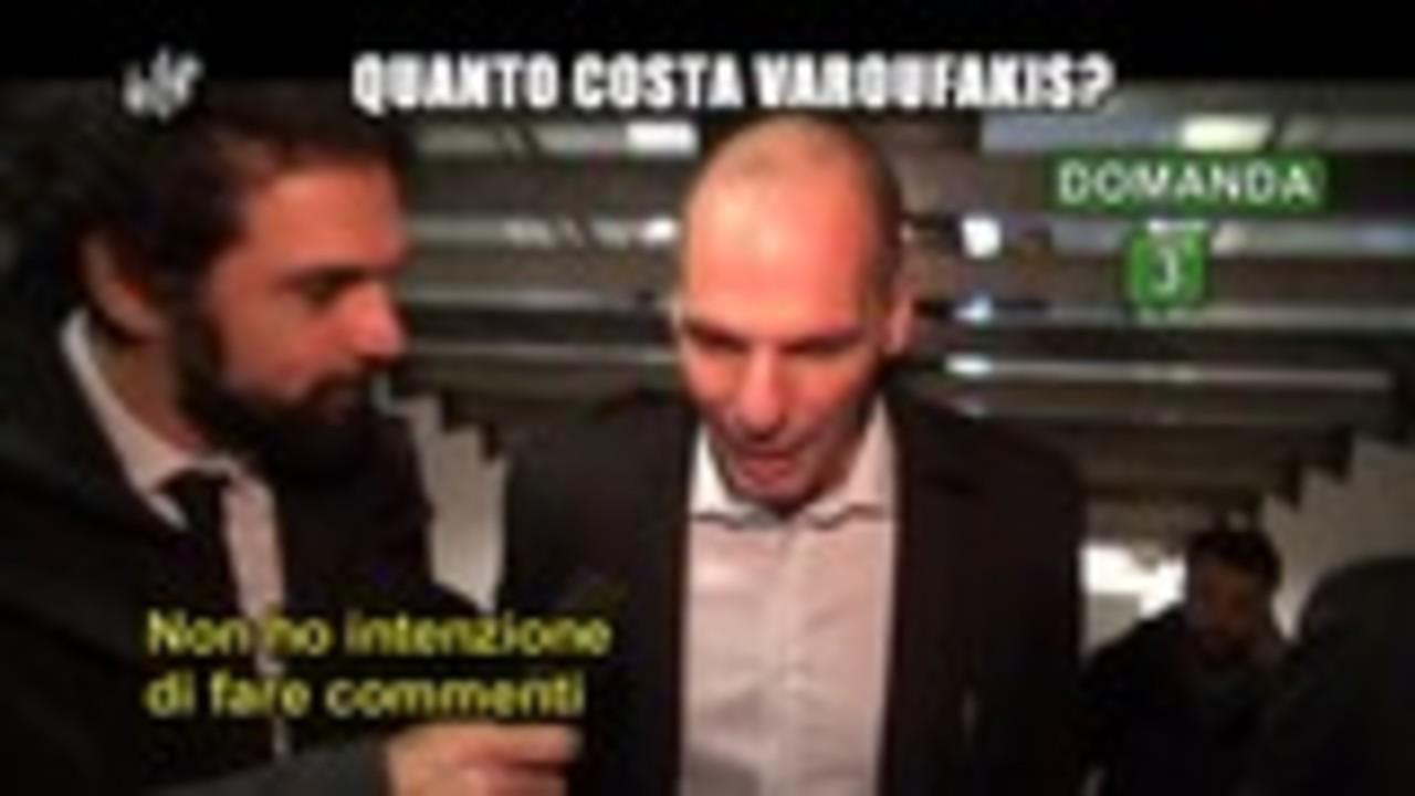 GIARRUSSO: Quanto costa Varoufakis?