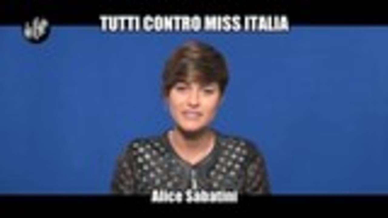 Tutti contro Miss Italia
