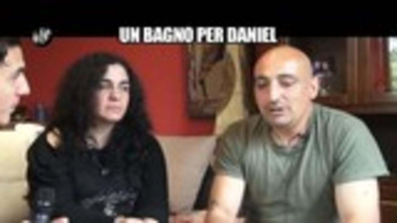 CIZCO: Un bagno per Daniel
