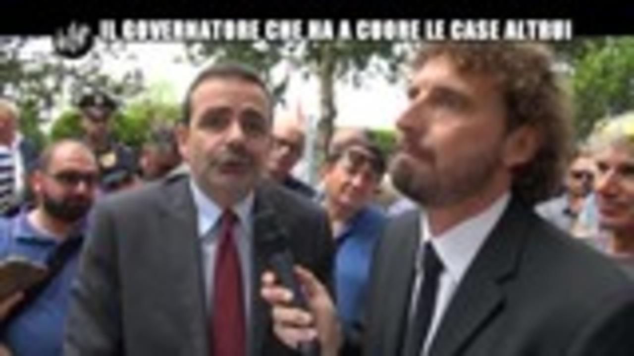 ROMA: Il governatore che ha a cuore le case altrui