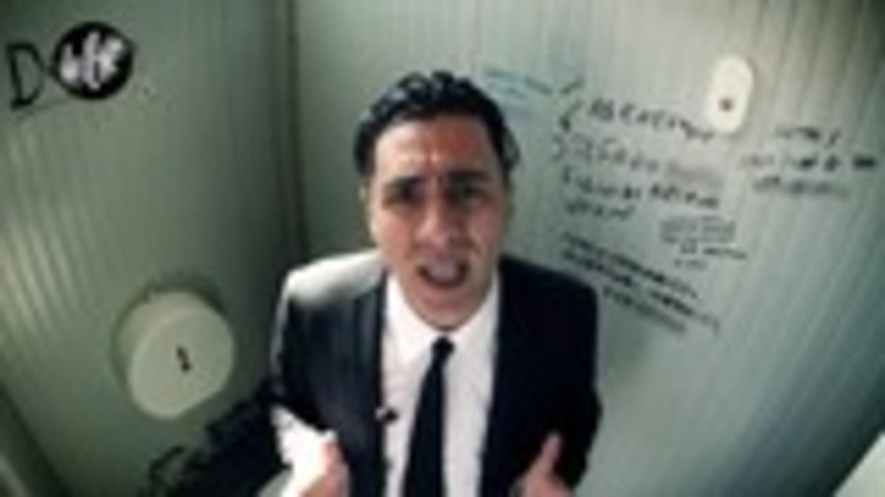 CIZCO: Il mondo degli annunci nei bagni pubblici