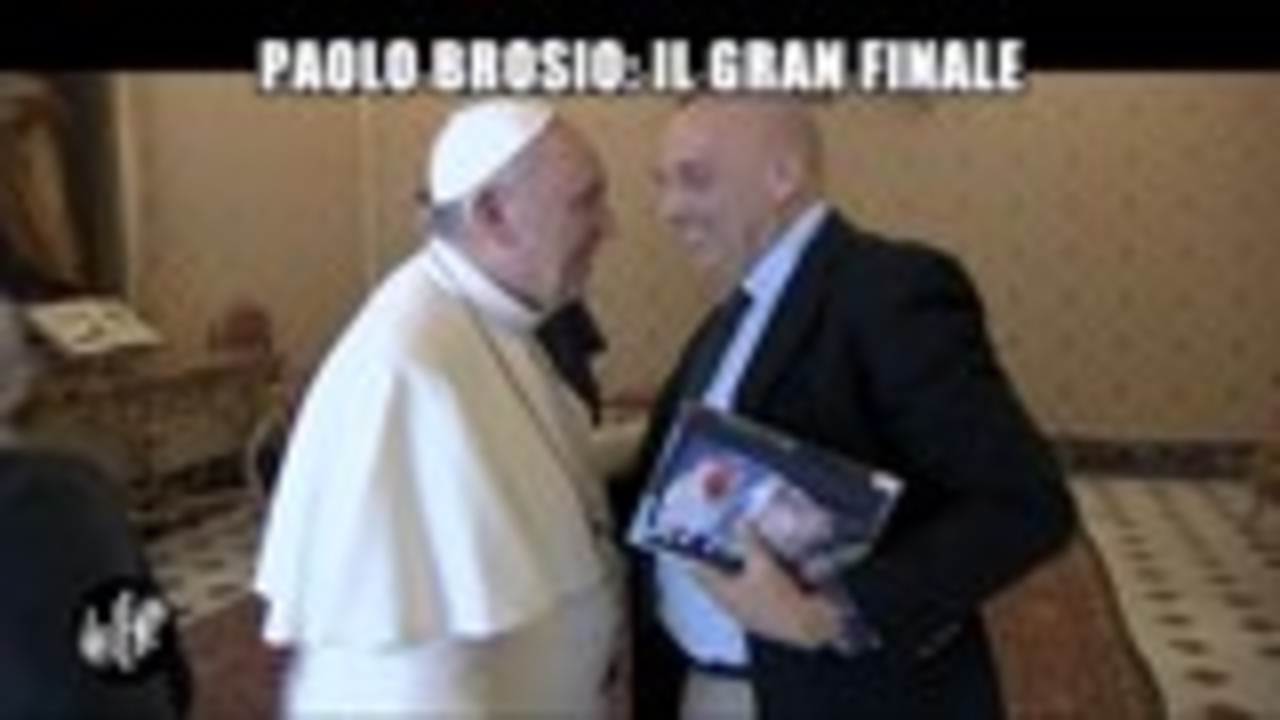 MATANO: Paolo Brosio: Il gran finale
