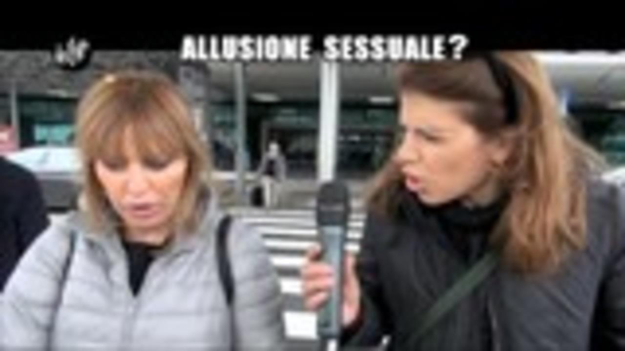NOBILE: Allusione sessuale?