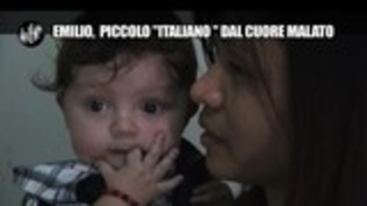"""NINA: Emilio, piccolo """"italiano"""" dal cuore malato"""