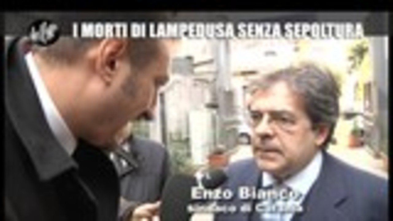 CASCIARI: I morti di Lampedusa senza sepoltura