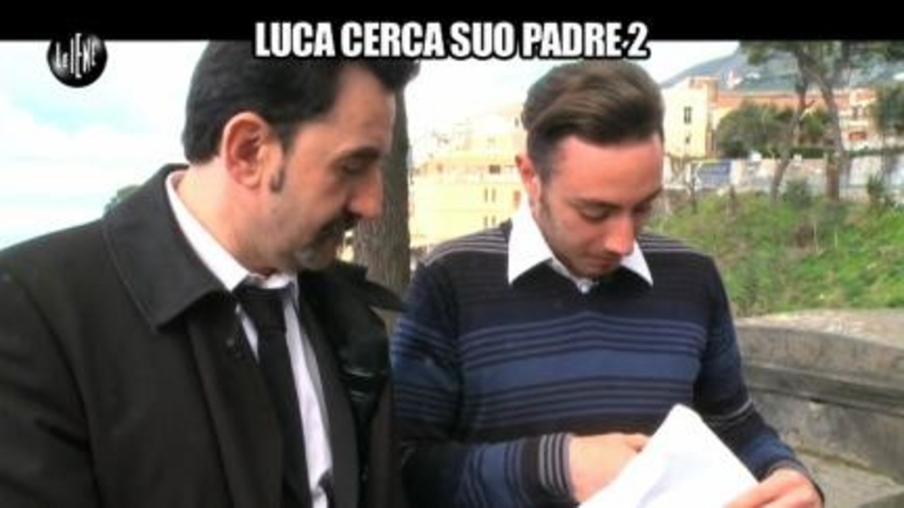 PELAZZA: Luca cerca suo padre 2