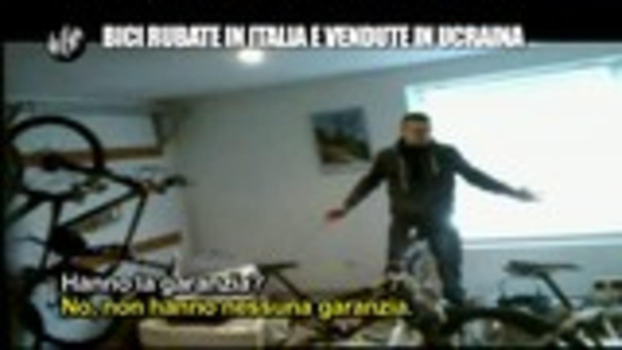 PELAZZA: Bici rubate in Italia e vendute in Ucraina