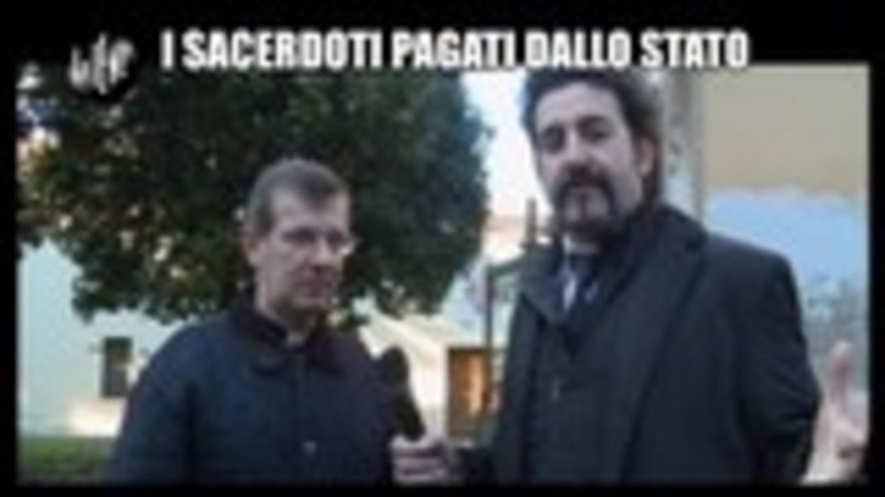PELAZZA: I sacerdoti pagati dallo Stato