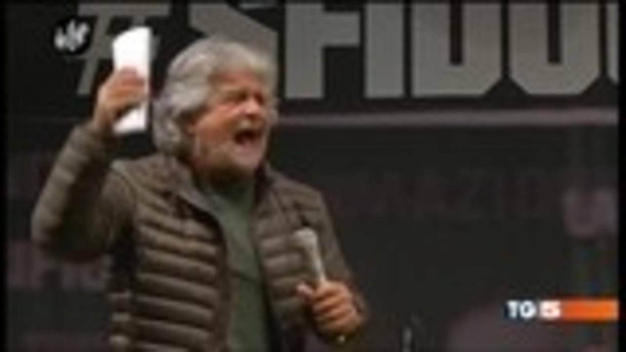 ROMA: La frase di Grillo sulla mafia