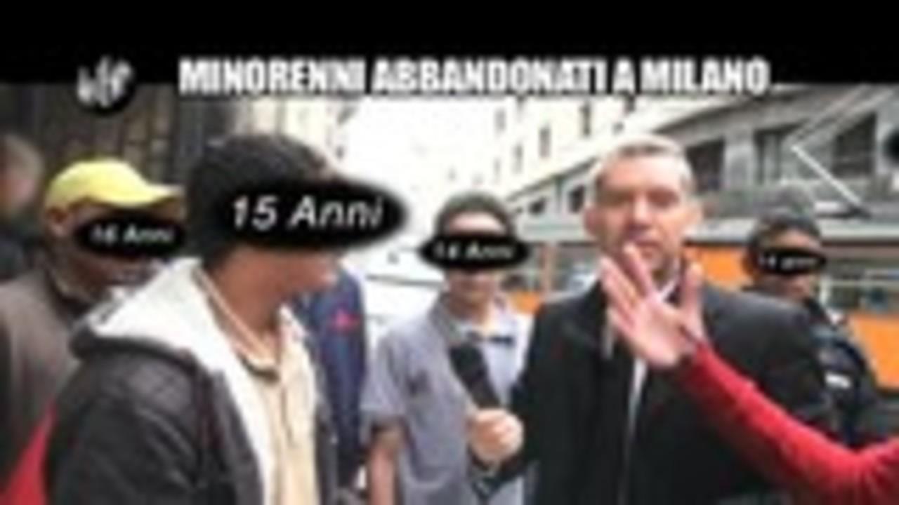 AGRESTI: Minorenni abbandonati a Milano