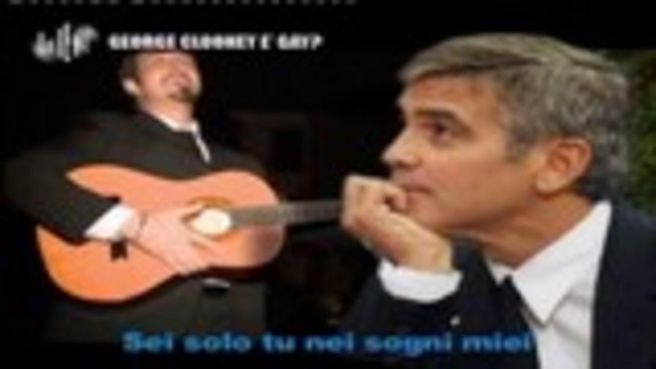 CASCIARI: George Clooney è gay?