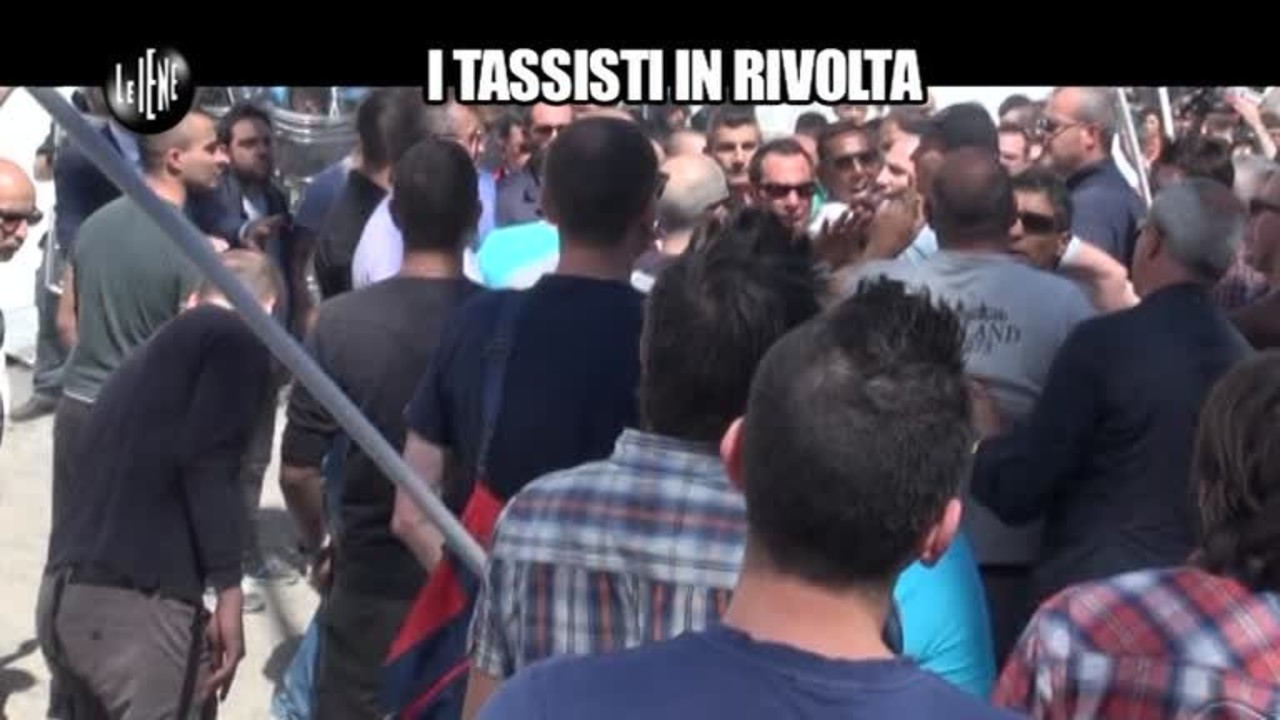 AGRESTI: I tassisti in rivolta