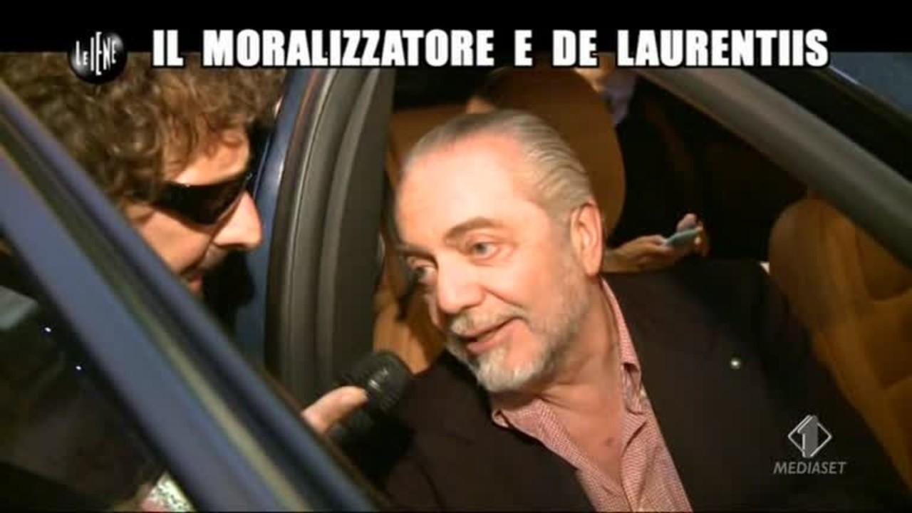 ROMA: Il moralizzatore e De Laurentis